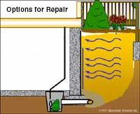 Basement Water Repair Options