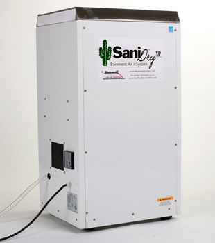 Our SaniDry™ XP basement air system