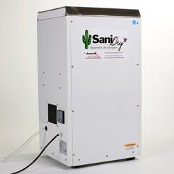 a basement dehumidifier system