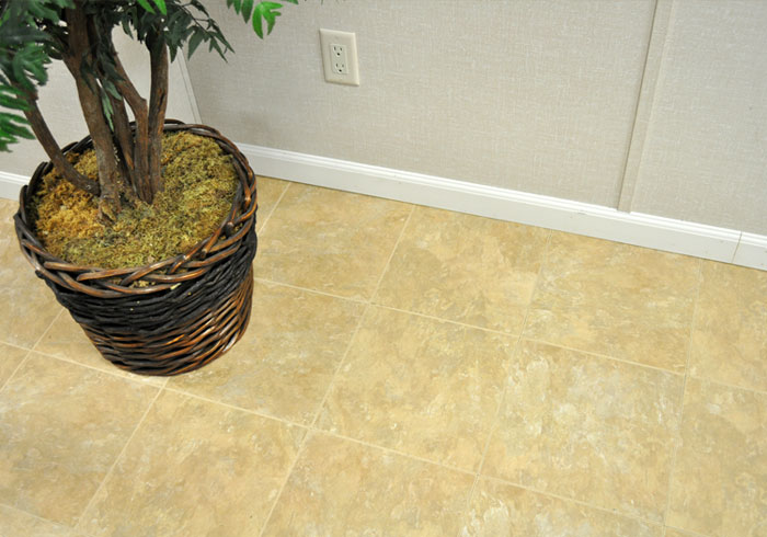 Thermaldry Carpeted Basement Floor Tiles