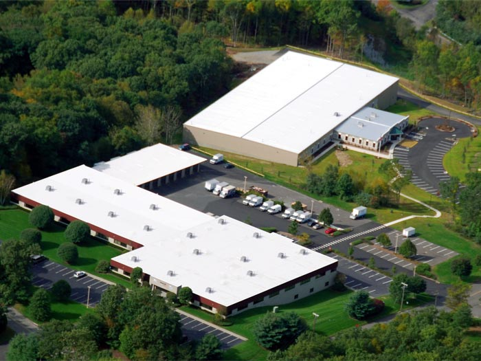 aerial view of the basement systems inc international headquarters