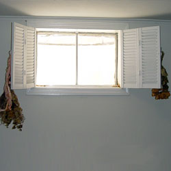 A durable vinyl replacement basement window