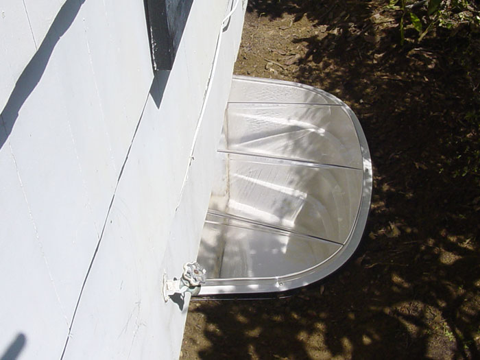 Plastic Covered Window : Sunhouse basement window wells