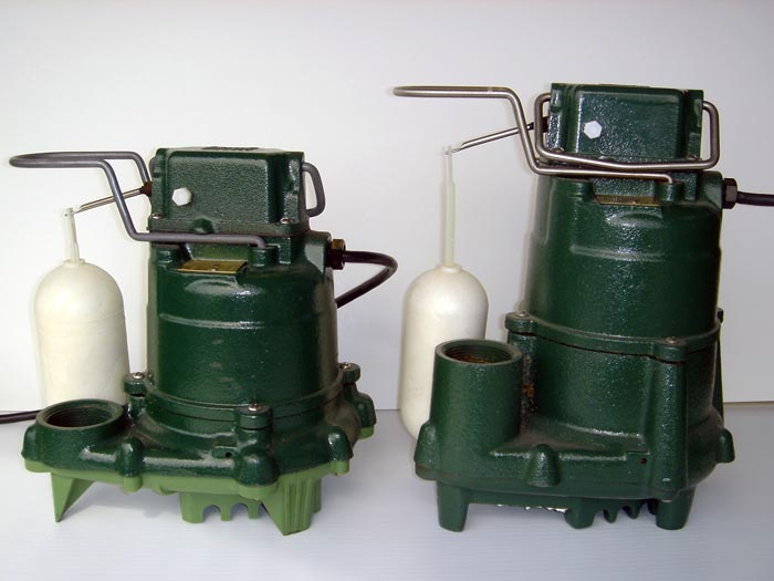 at basement systems we proudly install cast iron zoeller sump pumps