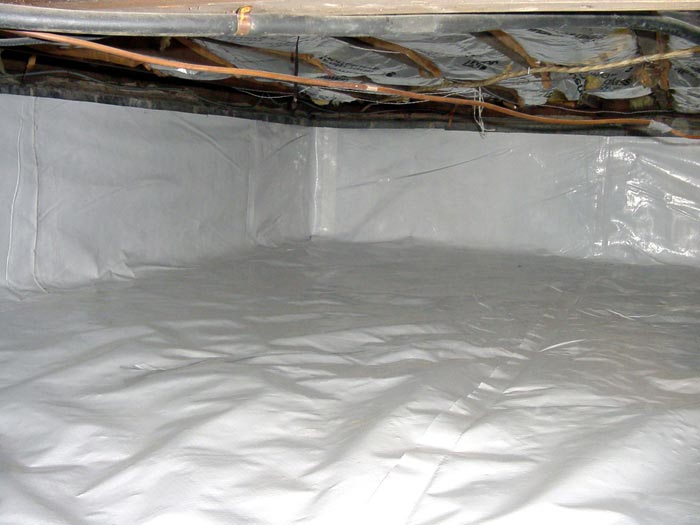 The Cleanspace Crawl Space Vapor Barrier System