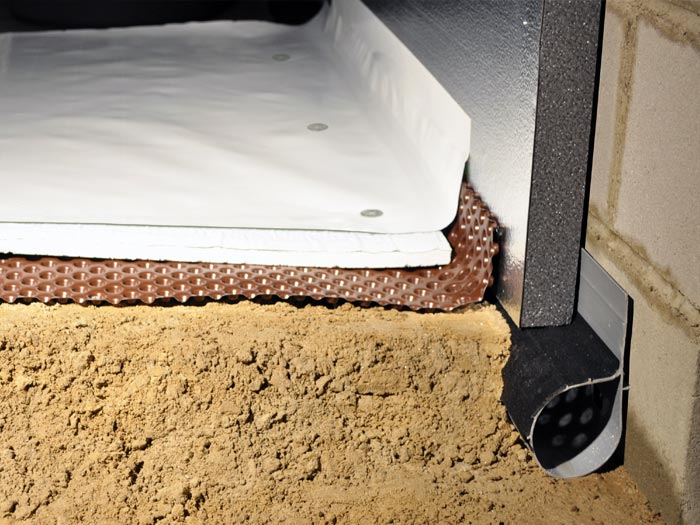 The Cleanspace Light Crawl Space Encapsulation System
