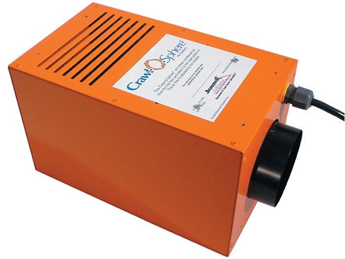 Crawl Space Ventilation Systems : The crawl o sphere space ventilation fan system