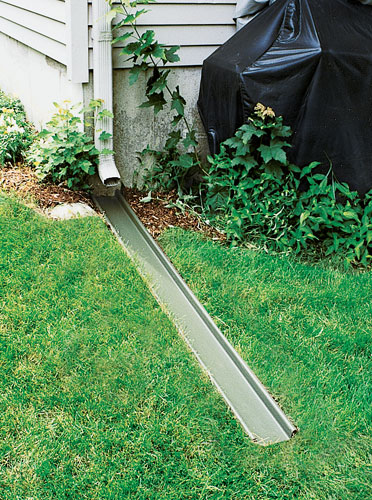 Sump Pump Discharge Lines Amp Outdoor Drainage