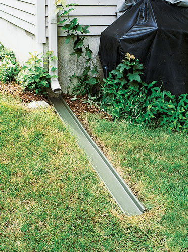 Outdoor Drainage Products For Your Home Downspout