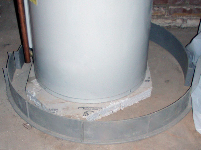 The Floodring Flooding Water Heater Protection System