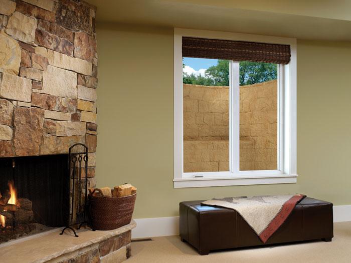 The rockwell egress basement window well system for Basement bedroom egress