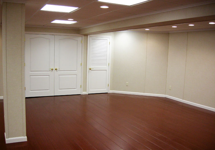 Finished Basement Wall Panels : Basement finishing remodeling by
