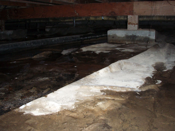 Crawl Space Waterproofing : Crawl space waterproofing