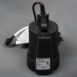 A floor sucker sump pump