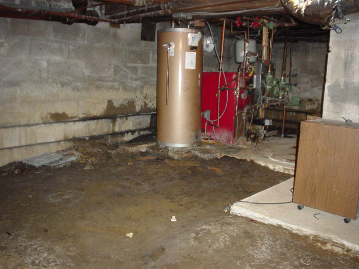 Common issues with crawl spaces Concrete crawl space floor