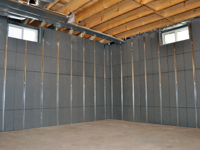 Basement insulation energy efficiency products for Framing interior basement walls