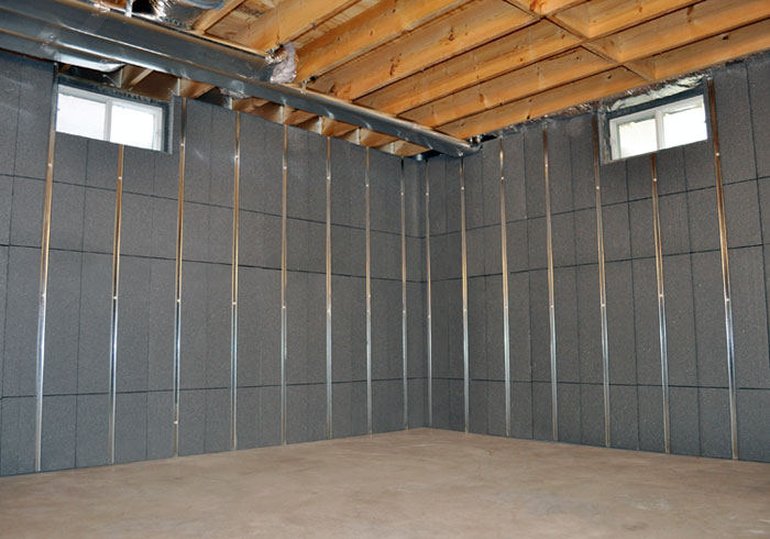 Basement To Beautiful Insulated Wall Panels Amp Studs