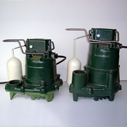 Our Zoeller Sump Pump Systems of choice.