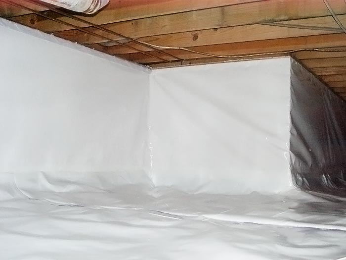identify your problem our vapor barrier system crawl space products