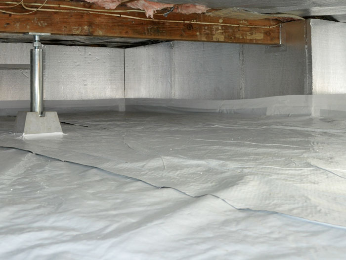 Comparing options for crawl space insulation Space heating options