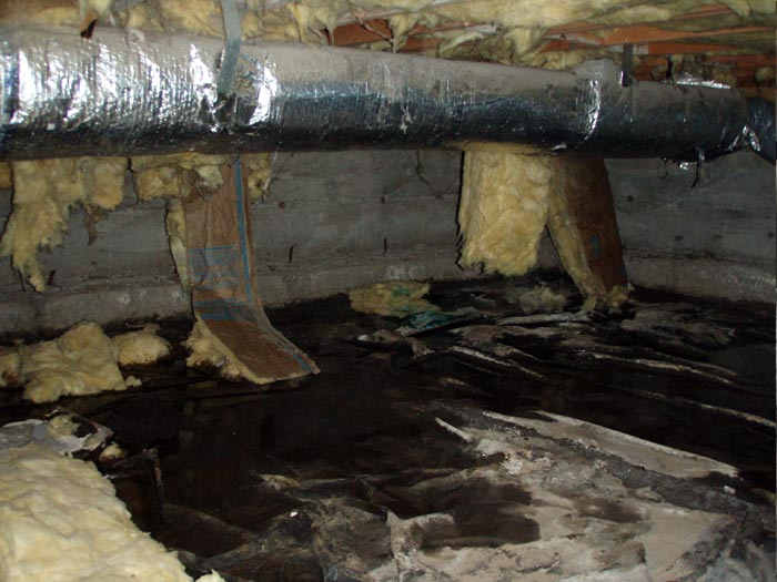 Understanding crawl space ventilation for Crawl space floor