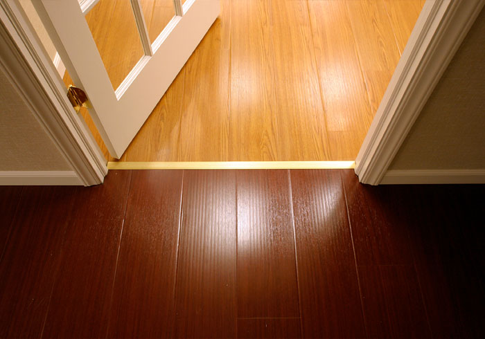 Hardwood floors different colors different rooms wood floors Different tiles in different rooms